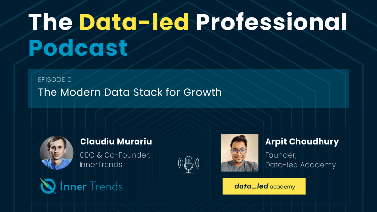 Podcast Episode: The Modern Data Stack for Growth