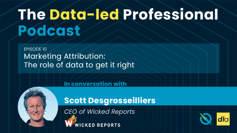 Episode 10 of the Data-led Professional Podcast